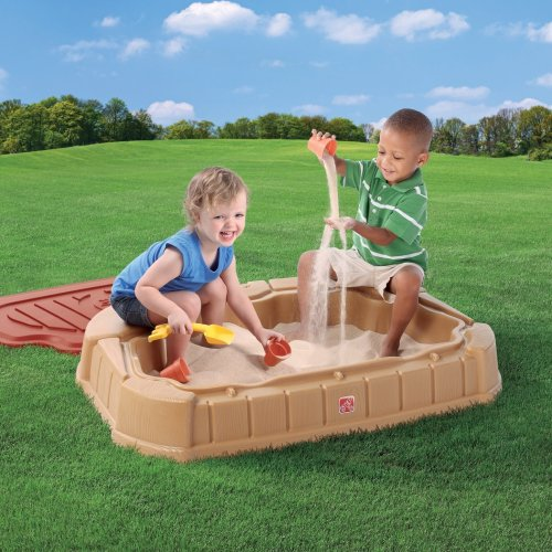 Medium Of Two Kids In A Sandbox
