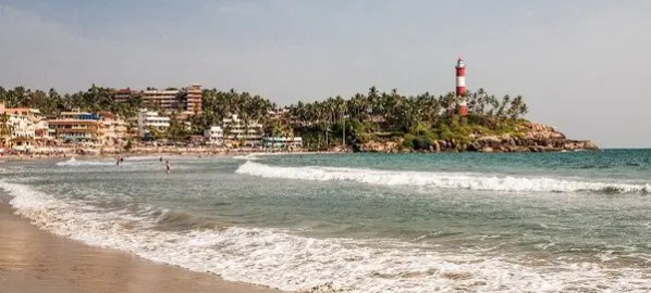 A day in Trivandrum and Kovalam beach, Kerala