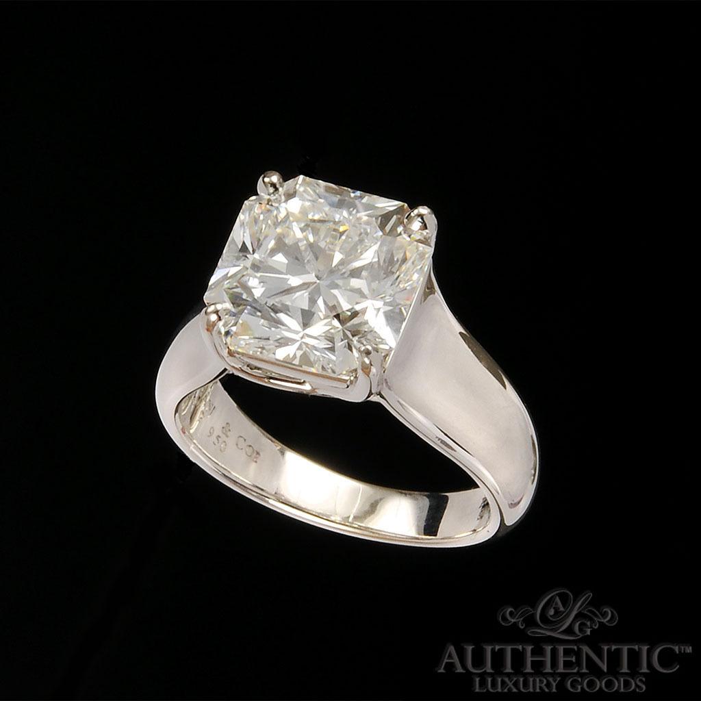 for sale 5 carat tiffany lucida diamond ring tiffany wedding bands