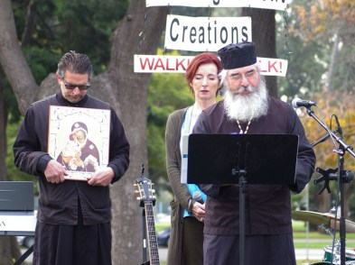 Opening prayer by The Very Reverend Father Cwiklinski, Eastern Orthodox Clergy Council of San Diego