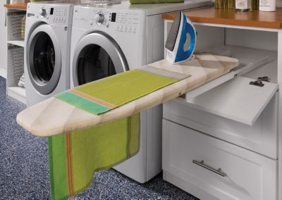 Laundry Room Pull Out Ironing Boardpull Out Folding