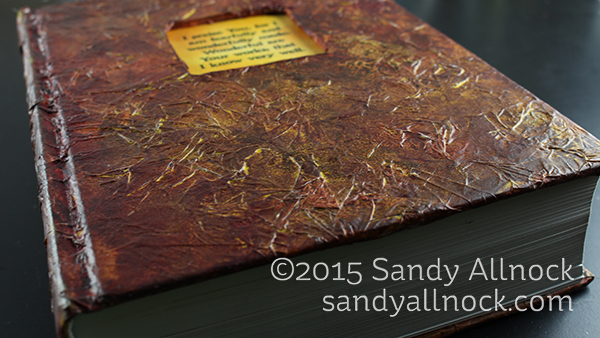 Faux Leather Book Cover texture