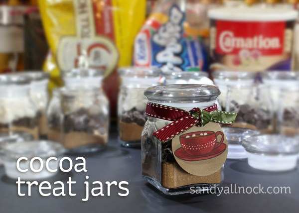 Sandy Allnock - Cocoa Treat Jars
