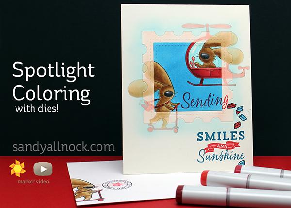 Sandy Allnock Spotlight Coloring