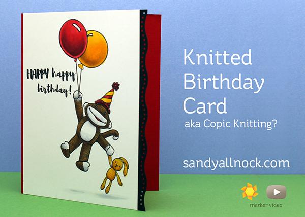 Knitting Birthday Card : Knitting and fishing ellen hutson hop sandy allnock