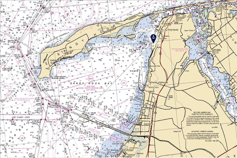 Sandy-Hook-Nautical-Chart