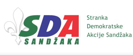 sda logo Sa skupa SDA Ugljanin poručio   Zaustaviću put ka Evropi   Foto   video