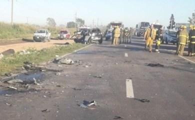 Cuatro muertos en un accidente en ruta 34, altura Sunchales