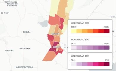 Mapa del cáncer en Santa Fe: factor ambiental y agroquímicos en debate