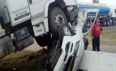Fatal accidente en Ruta 34 a la altura de Totoras