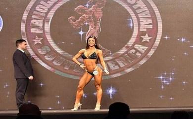 Una totorense fue campeona de fitness en Brasil