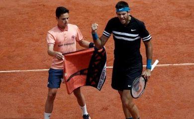 Semifinales: Del Potro completó la victoria ante Cilic y piensa en Nadal