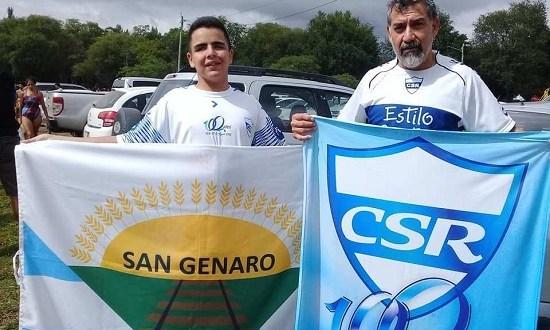Gran logro: Gabriel Ríos realizó el cruce del lago de Villa Rumipal