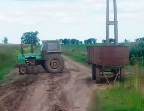 Robo y recupero de maquinarias agrícolas en San Genaro