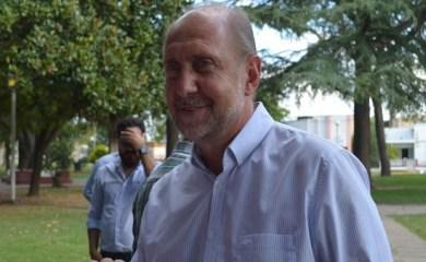 Omar Perotti visitó San Genaro