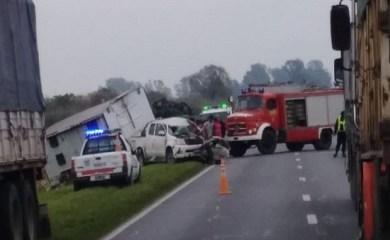 Ruta 34 – Totoras: Dos accidentes de tránsito con heridos