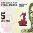 A canjear: Adios al billete de 5 pesos