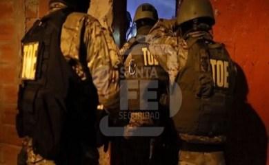 31 detenidos: Desbaratan una banda en un megaoperativo antidrogas en la región