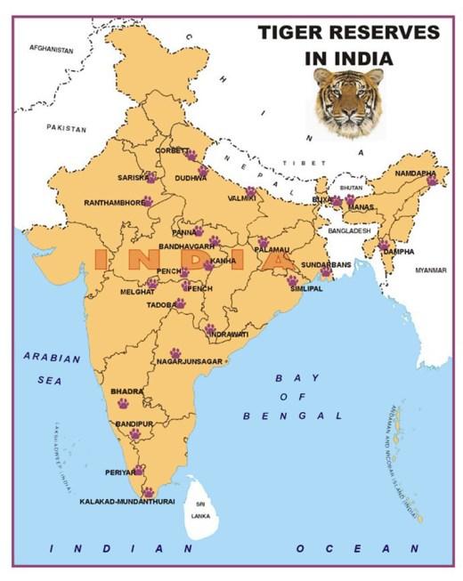 tiger-reserve-map-india