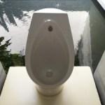 Mieux vaut s'assoir sur une lunette wc que de rester debout aux petits coins
