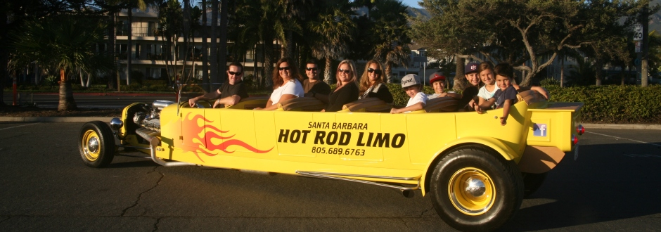 Santa Barbara Hot Rod Limo Header2