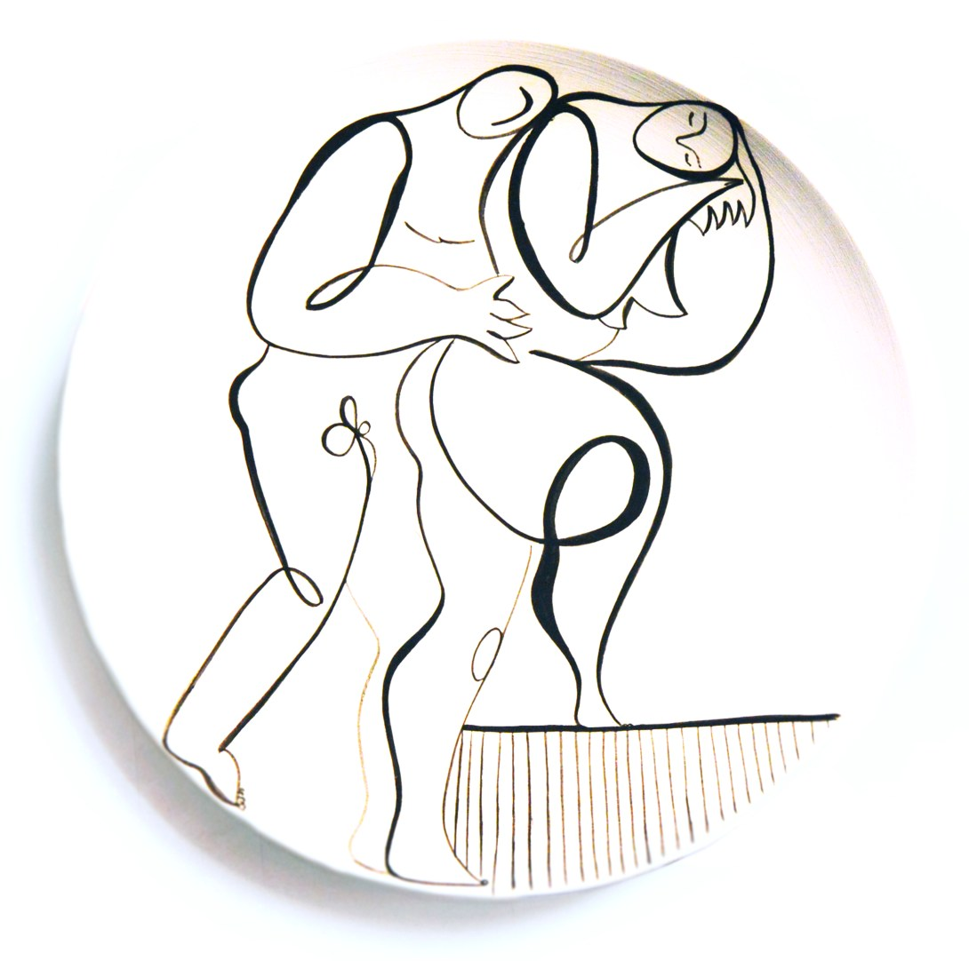 andrea-santamarina-contemporary-artist-spain-art-gallery-artistic-ceramic-drawing-plates-love-10