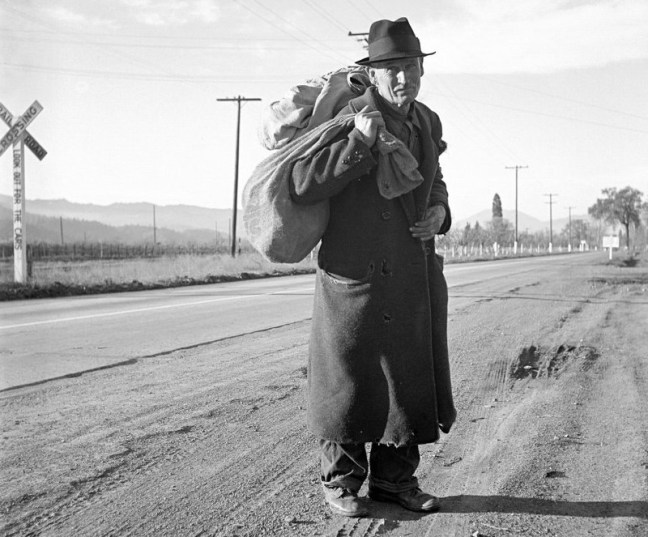 """Napa Valley"", December 1938 photo by Dorothea Lange"