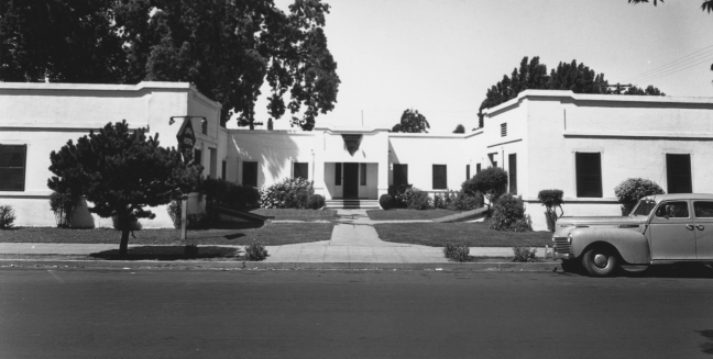 1941 view of Santa Rosa General Hospital. Photo courtesy Sonoma County Library