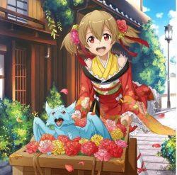 【幸せの花売り】シリカ