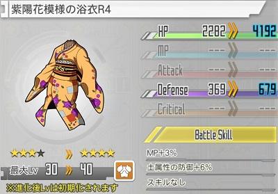 紫陽花模様の浴衣
