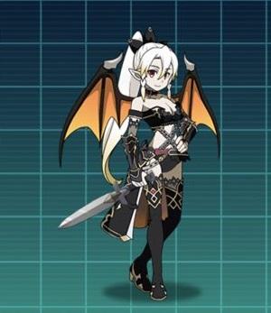 【破滅の魔剣士】リーファ