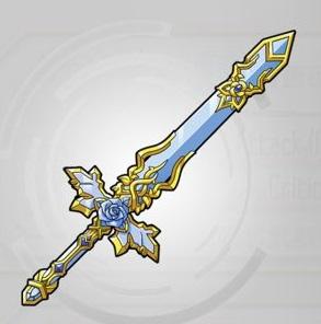 青薔薇の氷結剣