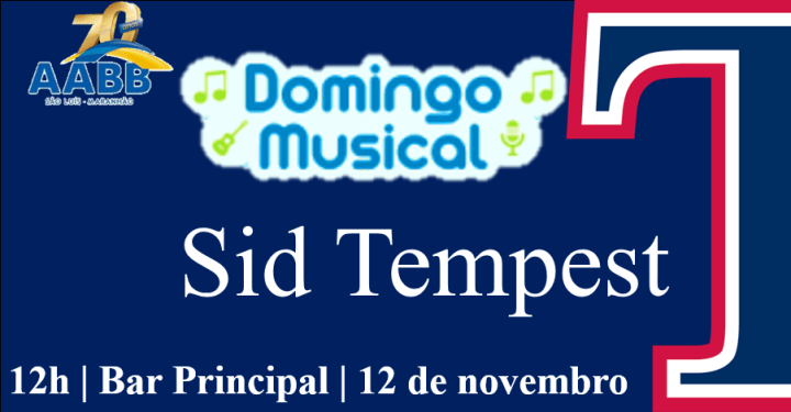Domingo Musical 12 de novembro