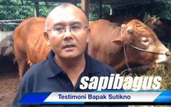 Video testimoni Bpk. Sutikno