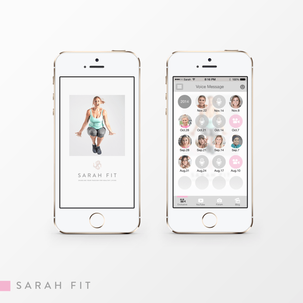 Sarah fit app