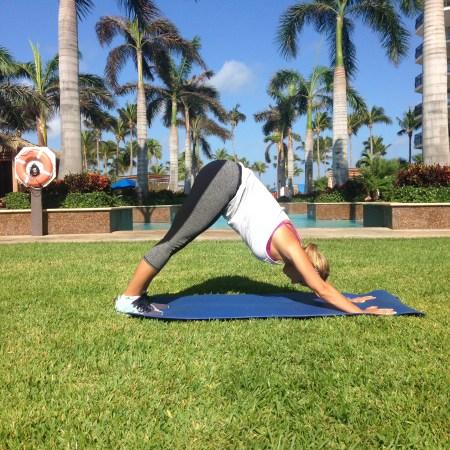 Aruba Yoga Pose
