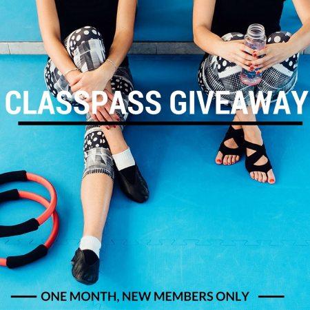 ClassPass Giveaway