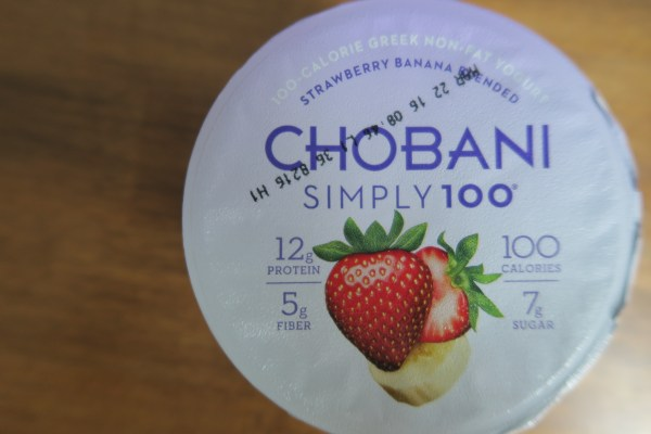 chobani greek simply 100 banana