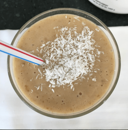 Salted Caramel SMoothie Vegan