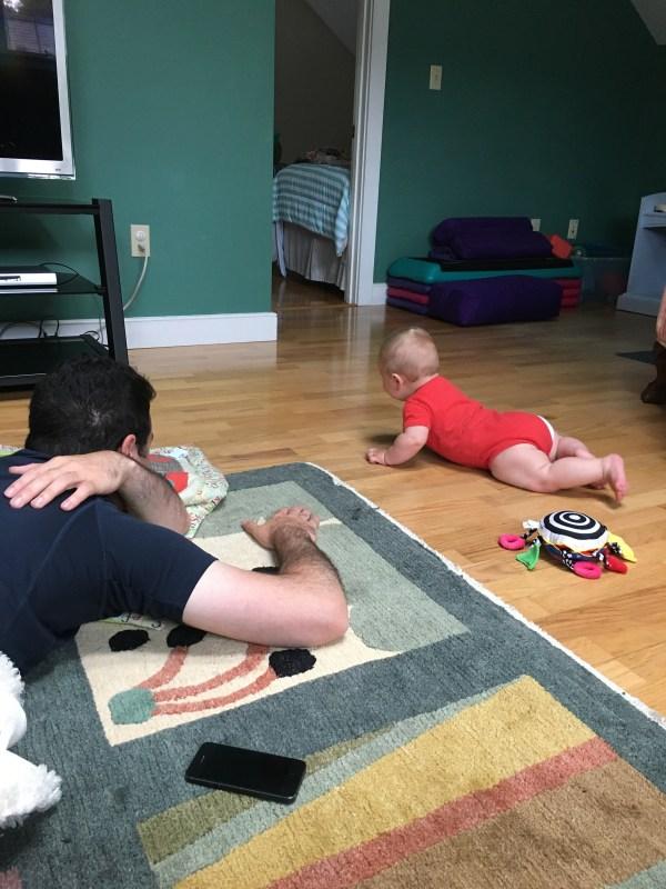 Crawling Tommy