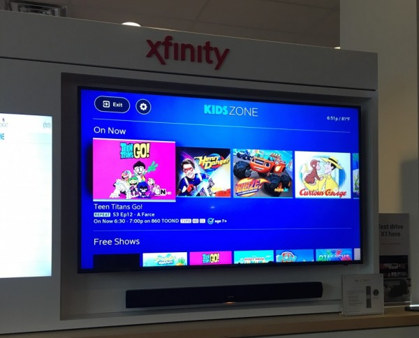 KidsZone Comcast