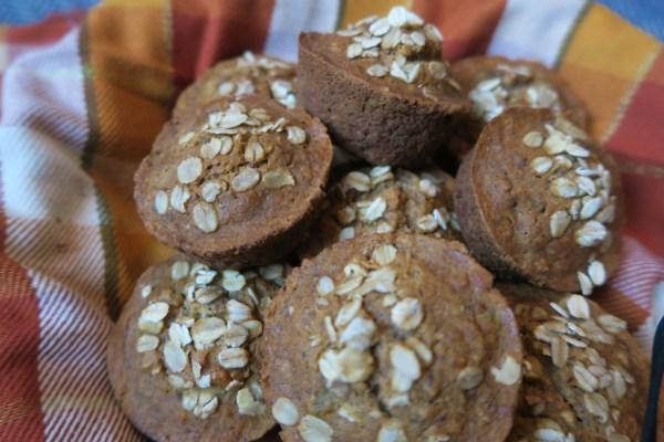 oatmeal muffins gf