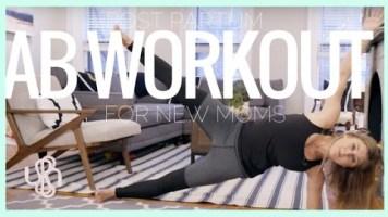 VIDEO: Postpartum Ab Workout, 7-Minutes