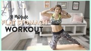 10 Minute Ab Workout For A Flat Stomach | Video