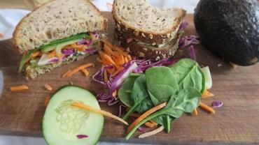 Green Goddess Egg Salad Sandwich Recipe