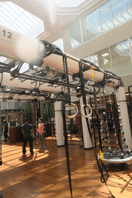 Lifetime Fitness Personal Training Area Chestnut Hill