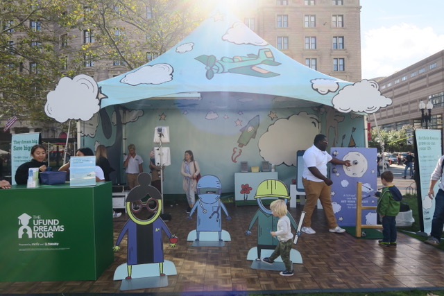 The Boston Book Festival with The MEFA U.Fund College Investing Plan