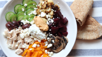 Family Friendly Meal Idea   Greek Power Bowls