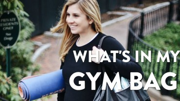 What's In My Gym Bag | Updated 2018