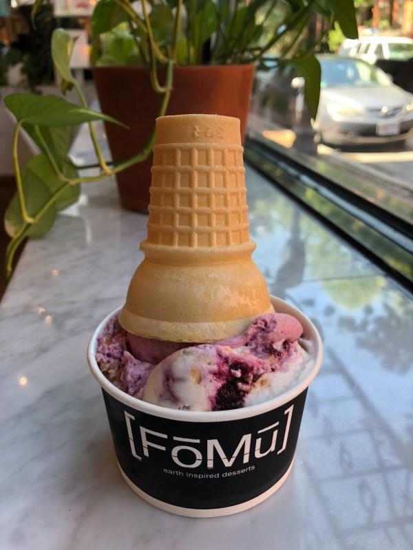 Fomu vegan ice cream